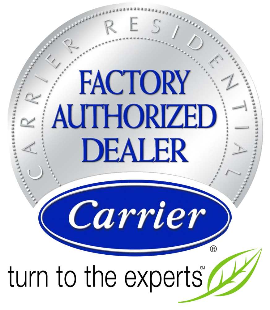 Carrier Factory Authorized Dealer Badge
