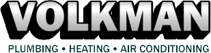 Official Volkman Plumbing, Heating, & Air Conditioning Logo